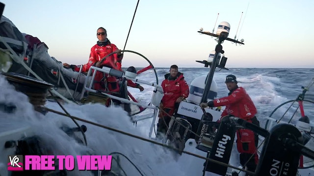 F2V - The Ocean Race Europe 2021 - Day Three