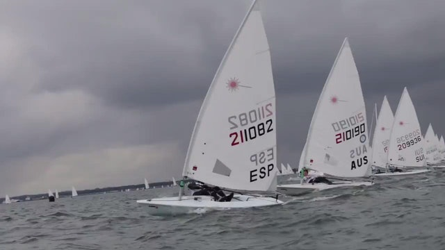 KBC Laser Radial Worlds 2016 - Day 2 Highlights