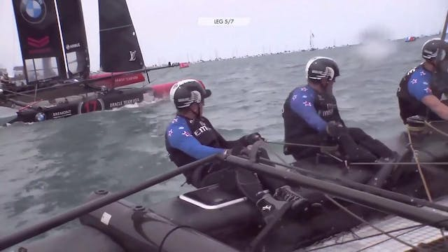 Emirates Team New Zealand - Peter Bur...
