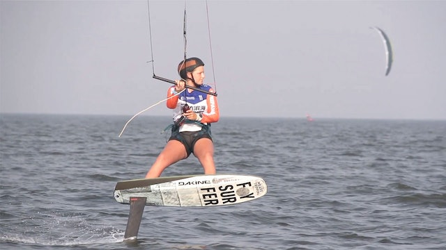 2019 Kitefoil World Series Weifang Binhai - Day Three