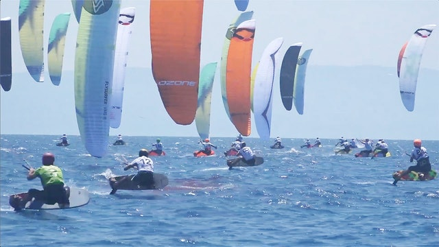 2019 Kitefoil World Series Gizzeria - Day Three