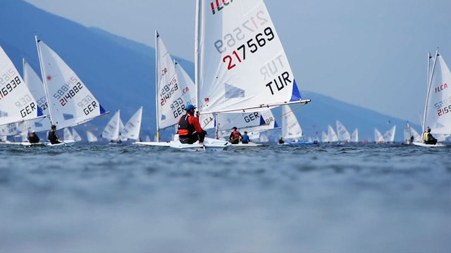 2021 ILCA 6 Laser Radial Youth Worlds - Day Two