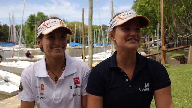 Brazilian Martine Grael and Kahena Kunze WSOY Interview