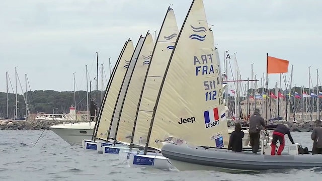 World Sailing SWC - Hyeres 2017 - Finn Highlights