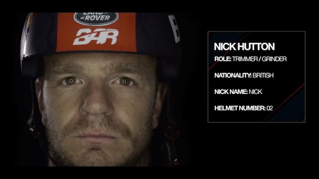 Land Rover BAR - Meet The Team - Nick Hutton