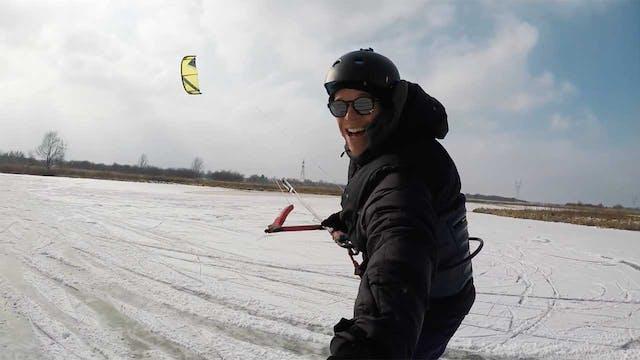 KEVVLOG - Today I Went Ice Kiting