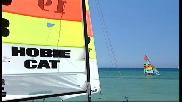 Hobie 16 European Champs at Wildwind 2001