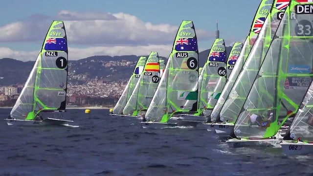 49er & 49erFX European Champs 2016 - Day 3