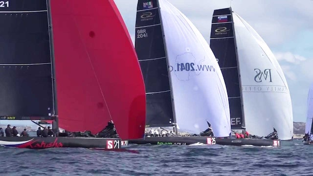 RC44 Marstrand World Championship 2017 - Day Two