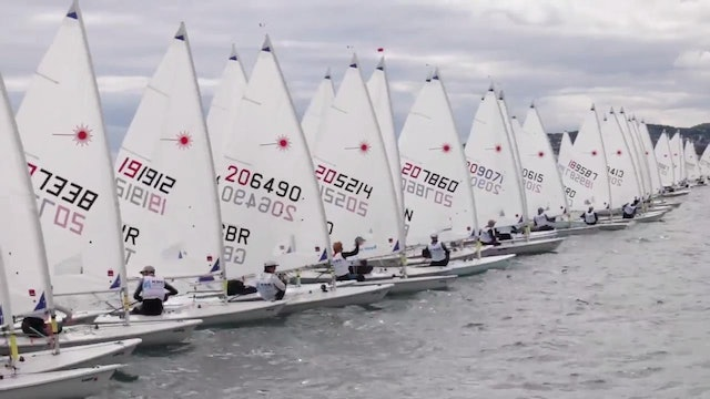 KBC Laser Radial Worlds 2016 - Day 6 Highlights