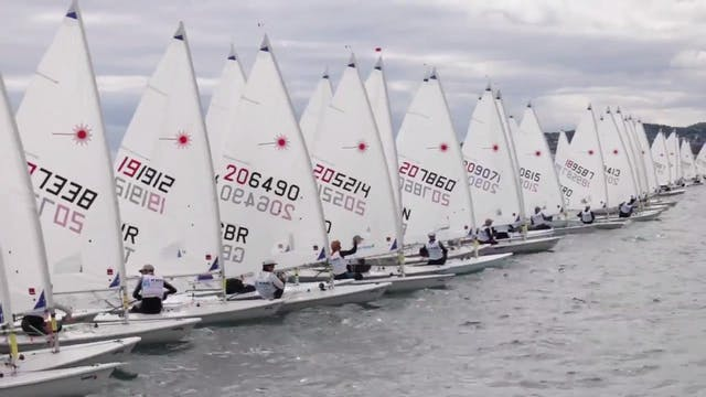 KBC Laser Radial Worlds 2016 - Day 6 ...
