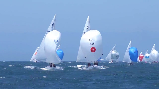 Cascais Dragon World Championship 2017 - Day Three