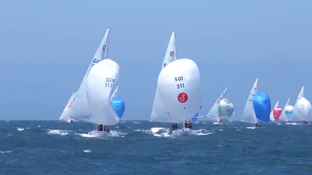 Cascais Dragon World Championship 201...