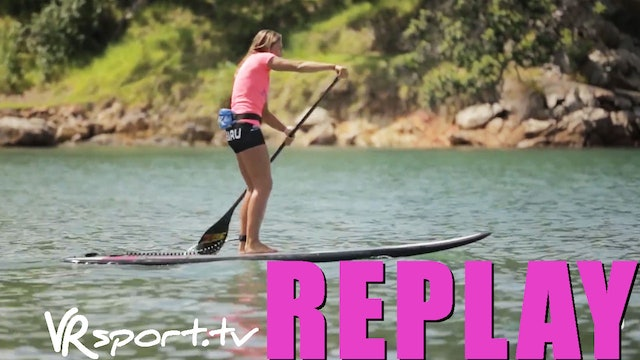 SUPing with Annabel Anderson & Subaru - Lesson 2 On The Water