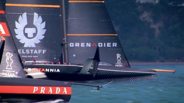 INEOS Team UK - Prada Cup Round Robin Recap with the Gov