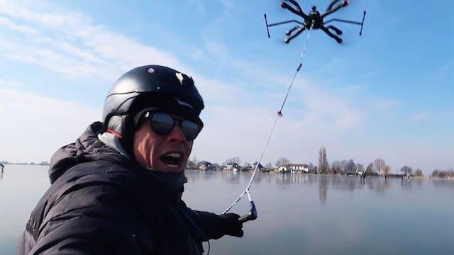 KEVVLOG - Ice Skating Behind A Drone
