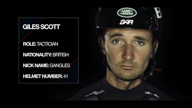 Land Rover BAR - Meet The Team - Giles Scott