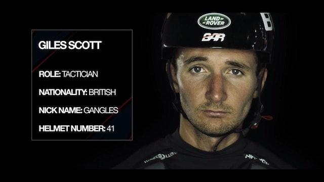 Land Rover BAR - Meet The Team - Giles Scott