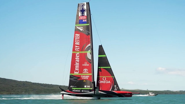 Emirates Team NZL - Launched & Tested in 24 Hours