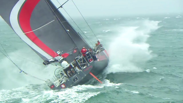 Volvo Ocean Race Leg Zero - Stage 1 - Record Smashed