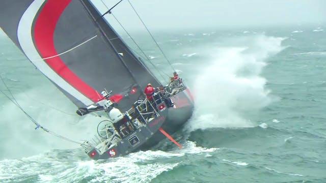Volvo Ocean Race Leg Zero - Stage 1 -...