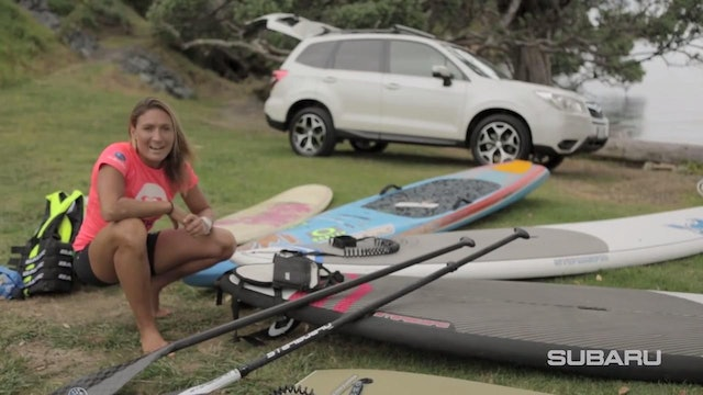 SUPing with Annabel Anderson & Subaru - Lesson 1 Equipment