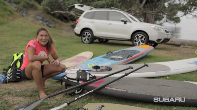 SUPing with Annabel Anderson & Subaru...
