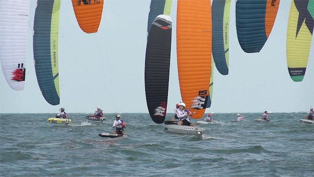 2019 Kitefoil World Series Pingtan - Day One