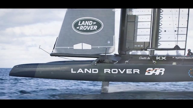 Land Rover BAR - Training from sunrise to sunset
