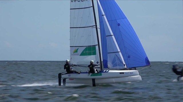 Kiel Week 2018 -  Sailing Highlights - Day 7 - Nacra 17