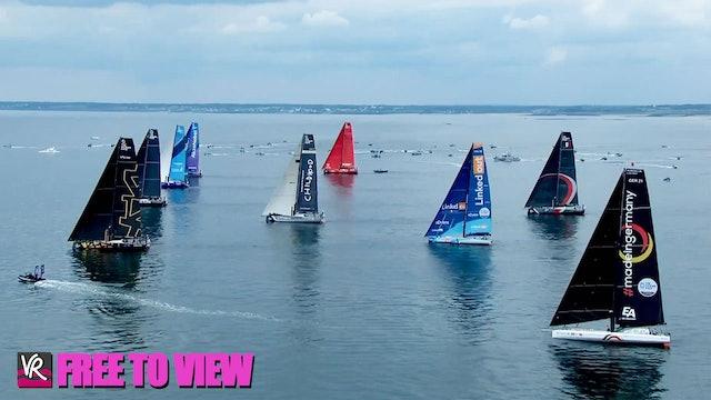 F2V - The Ocean Race Europe 2021 - Start