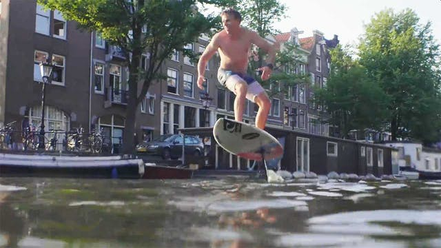 KEVLOG - Surfing in Amsterdam