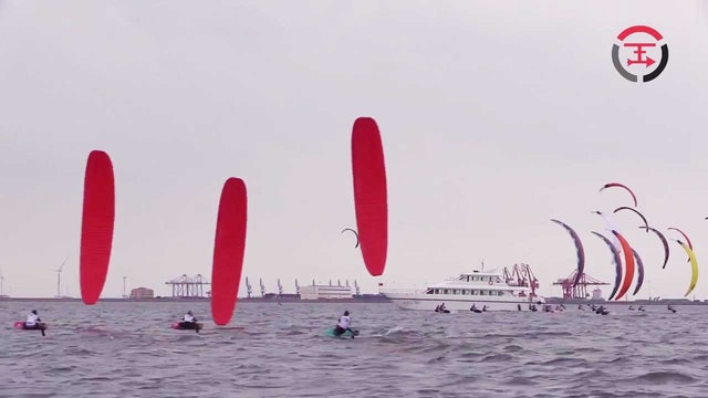 2017 KiteFoil GoldCup Weifang - Day Two