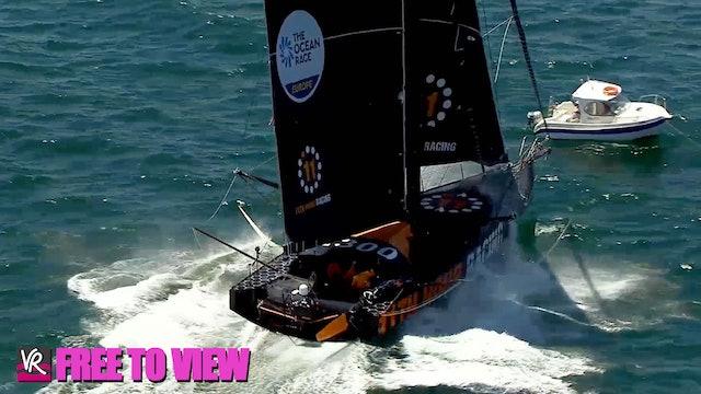F2V - The Ocean Race Europe 2021 - Leg 2 Start