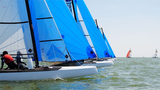 TME - Nacra 15 ESS 2019 - Dutch Youth Regatta - Day Three