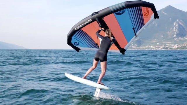 Four Basic Wingsurfing Turns - Episode 3