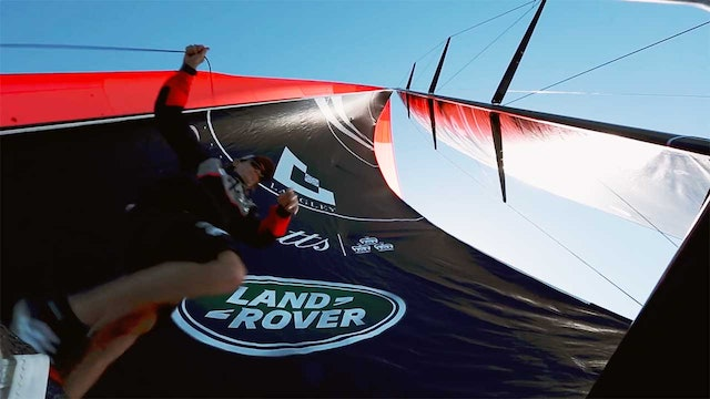 Land Rover BAR Gladiator Sailing Team TP52 Debut
