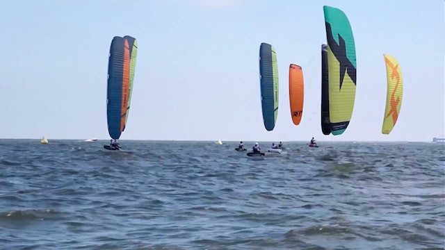 Kitefoil World Series 2018 Weifang - Day One