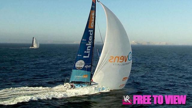 F2V - The Ocean Race Europe 2021 - Leg 2 Day Two