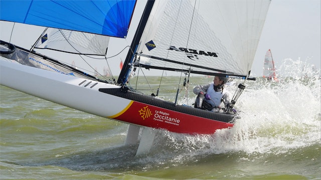 TME - Nacra 15 ESS 2019 - Dutch Youth Regatta - Day One