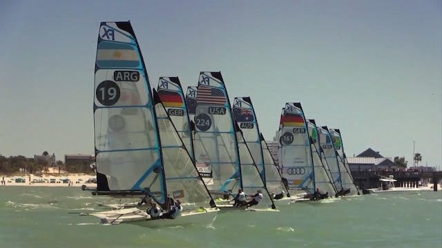 2016 49er and 49erFX World Champs Day 4