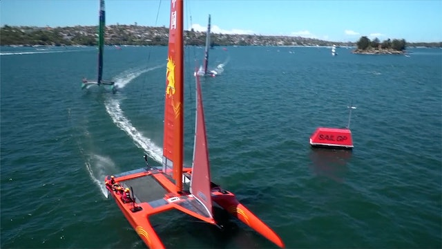 SailGP Sydney - Launch & Practise