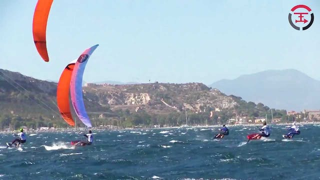 KiteFoil Gold Cup 2017 Italy - Day 2