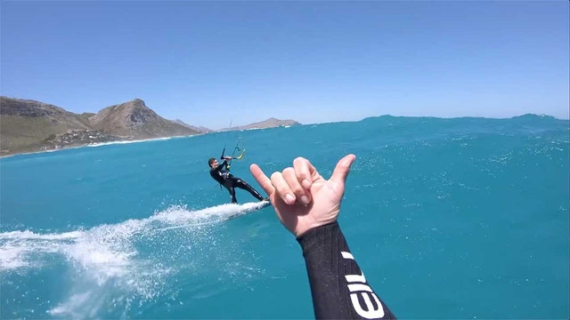 Cape Town - Jumping Over BIG Waves