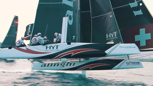 Extreme Sailing Series - Act 4, Barcelona Day Three