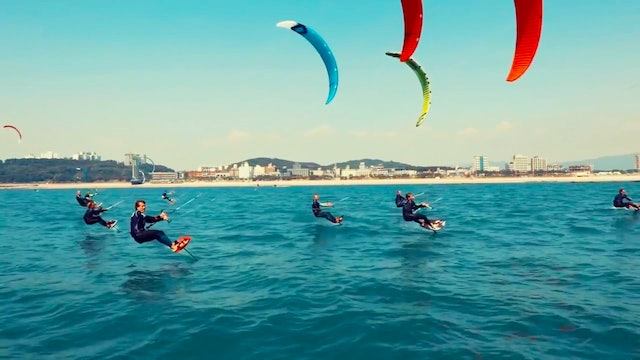 IKA KiteFoil Gold Cup & TT-R Open Korea - Race Day 1