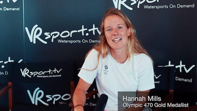 Hannah Mills and Nick Dempsey chat wi...