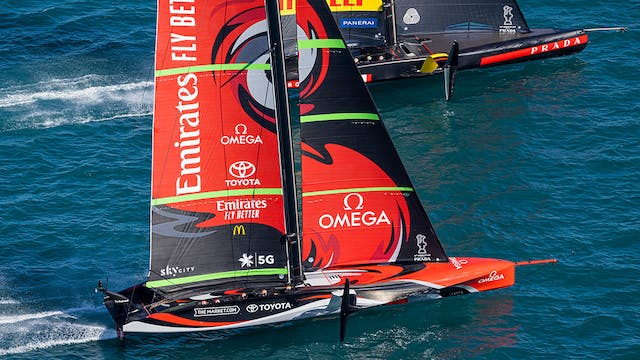 The 36th America's Cup - Pre-start