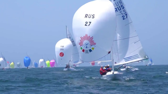 Cascais Dragon World Championship 2017 - Day Two
