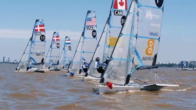 49er & 49erFX 2015 World Champs Daily Show Episode 1